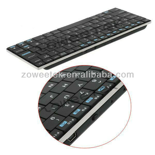Galaxy Note 10.1 Bluetooth Keyboard leather case with Slim Full size