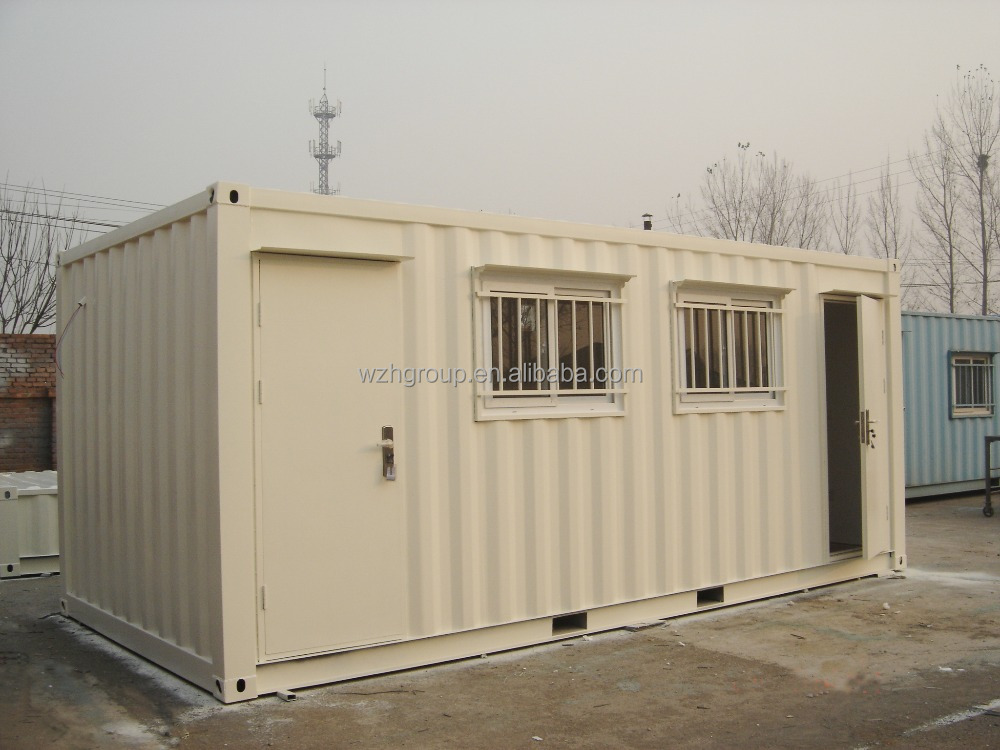 Modern design container house for public toilet