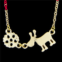Decorative jewelry sets jewelry fashion wholesale unique unisex jewellery zinc alloy animal pendant necklace