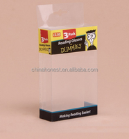 clear plastic soap packaging boxes/small clear flat plastic boxes/small clear plastic gift boxes with lid