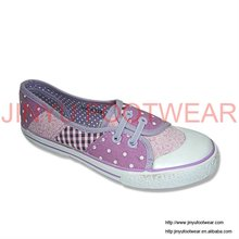 2012 best quality new design canvas shoes women