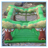 Fwulong PVC 0.55mm commercial used inflatable bouncer for sale cheap on ebay