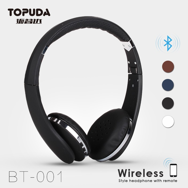 TOPUDA high quality top bluetooth accessories headsets without wire