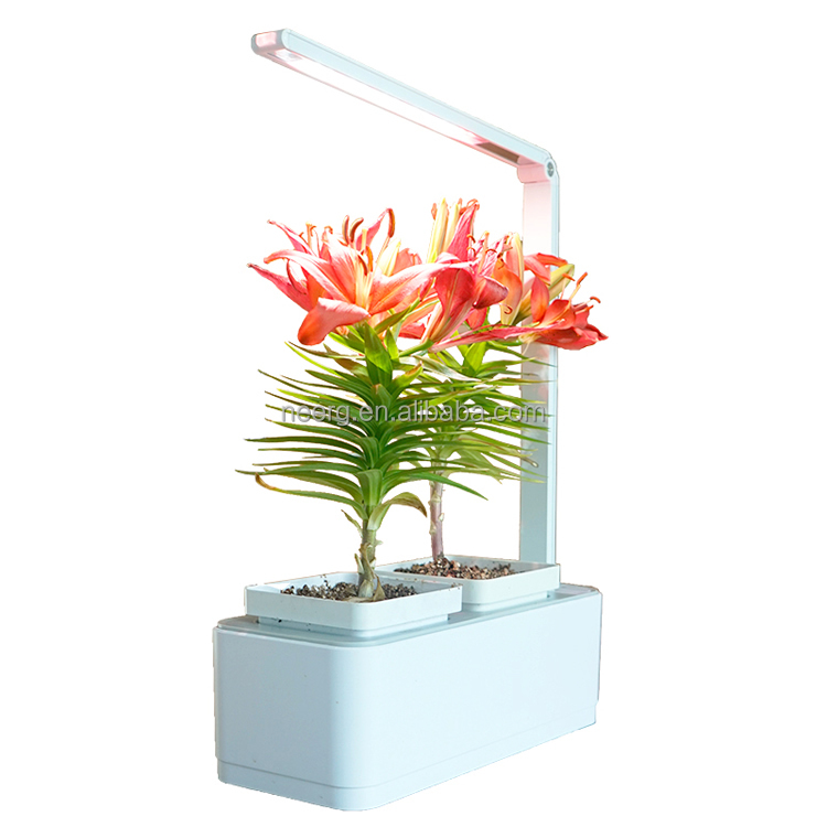 Smart Indoor Garden with LED grow light Hydroponics Planter