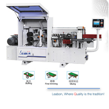 T-250 Competitive Price Semi-Automatic Edge Binding Machine With Buffing and Fine Trimming Functionsfor MDF Manufacturing
