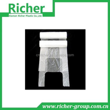 wholesale plastic hd transparent recycle plastic shopping bags