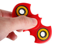 High speed fidge spinner 2 bat blades batman spinner