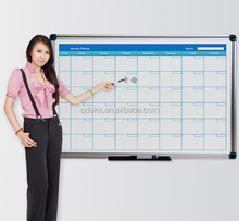 decorative dry erase white board with grid lines