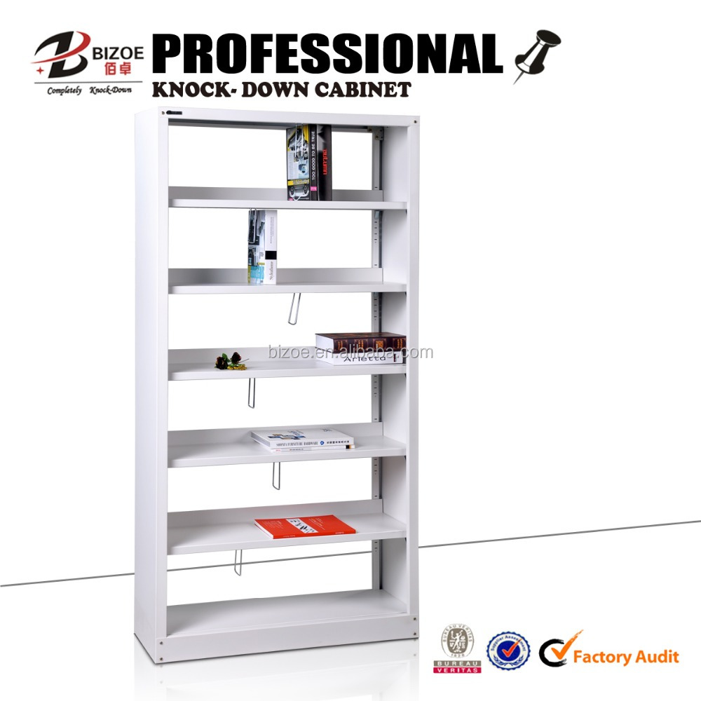 2016 modern simple steel Bizoe office furniture/metal bookshelf