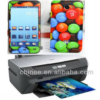 Mobile phone cover machine with software