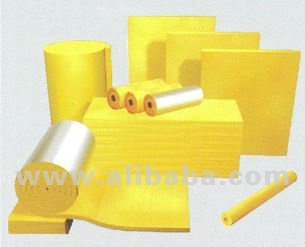 glass wool and rock wool