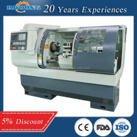 Small name of cnc lathe machine brand for sale CK6136A-2