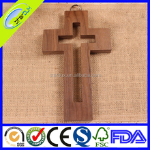 Religious Olive Wood Cross Patterns Wholesale