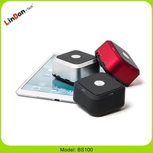 hands free wireless mini speakers with microphone cube hidden button portable Bluetooth speaker custom logo accepted