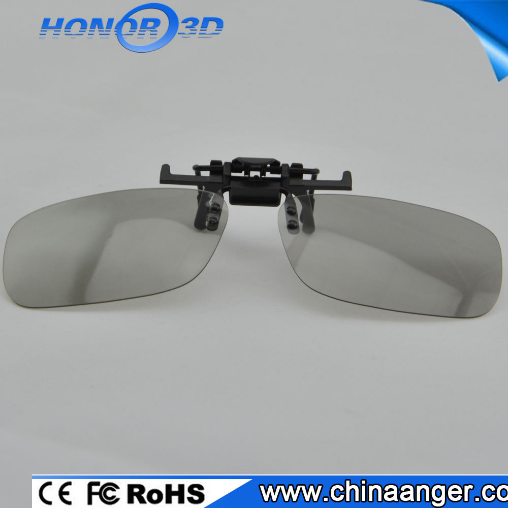 2016 hot selling honor factory price Hanging Clip-on 3D Glasses video glasses