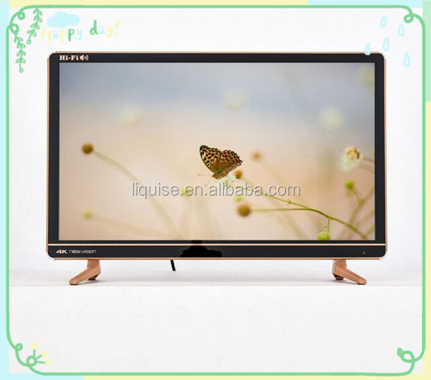 China supplier 24inch LCD/LED TV With Narrow Frame Design and USB Play Video LED TV