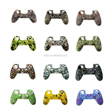 Durable Camouflage Camo Silicone Gel Rubber Soft Sleeve Skin Grip Cover Case For PS4/PS4 Slim/Pro Gamepad Controller Skin