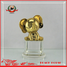 little elephant with crystal base baby souvenirs