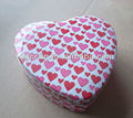 Beauiful heart shape cake tins,heart shaped gift tin can