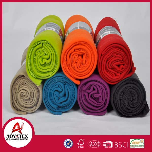anti static polar fleece blanket promotion polar fleece blanket