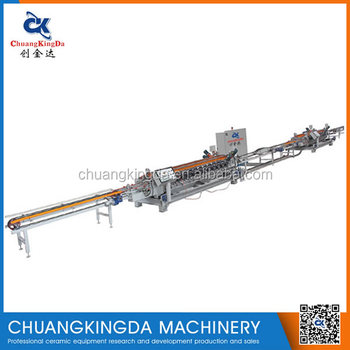 CKD40+4 Automatic Ceramic Tiles Dry Type Squaring Chamfering Sizing Production Line Machine