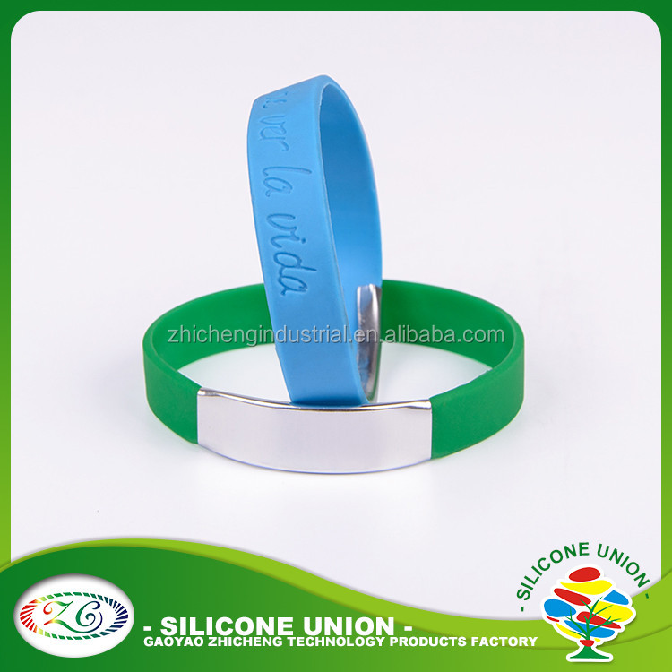 Advertising football silicone wristbands