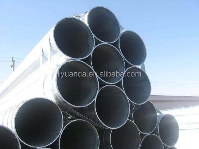 hot dipped seamless steel pipe/tube large diameter pipe