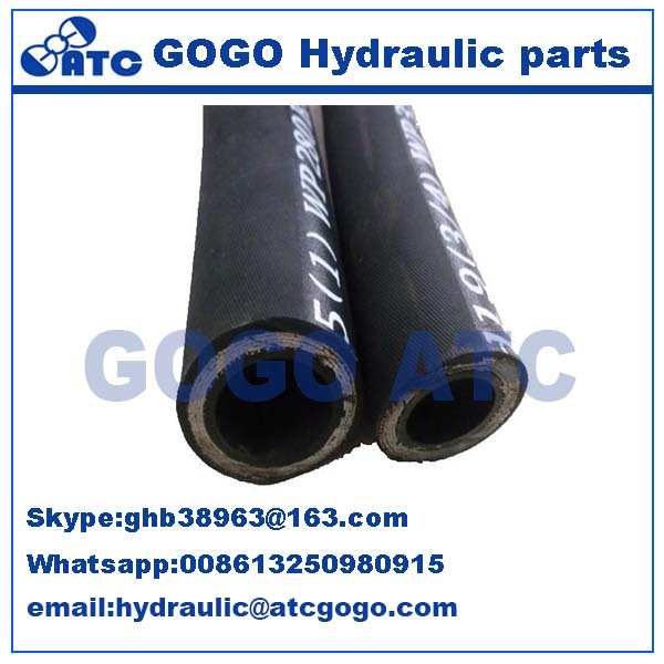 all kinds of hydraulic hose stainless steel wire flexible hose