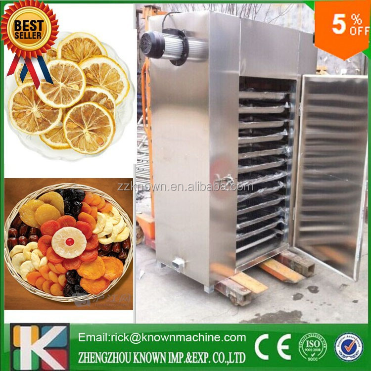 mango/ banana/ lemon/ grape fruit drying machine SS304 factory price cassava chips drying machine