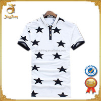 Pique polo shirt slim fit black and white color combination polo for men wholesale