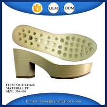 new design lady fashion sandal pu sole