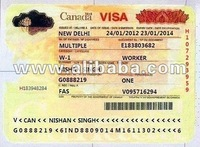 WORK PERMIT VISA IN USA AND CANADA