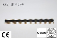 KSM 1.27*2.54mm double row pin header,SMT,Plastic high 2.54mm,2*100pin electronic connector