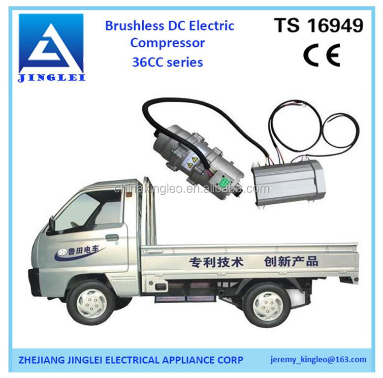 r134a electric vehicle ac compressor for electric car