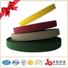 Wholesale factory polyester knitted elastic ribbon