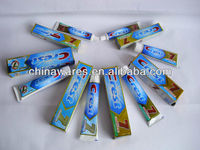 super hot selling brand high quality adult toothpaste,hotel toothpaste, travel toothpaste,disposable toothpaste