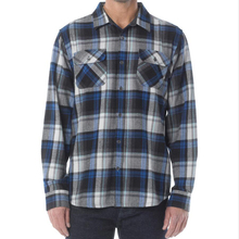 Mens quilted flannel shirt checked long sleeve winter shirt wholesale