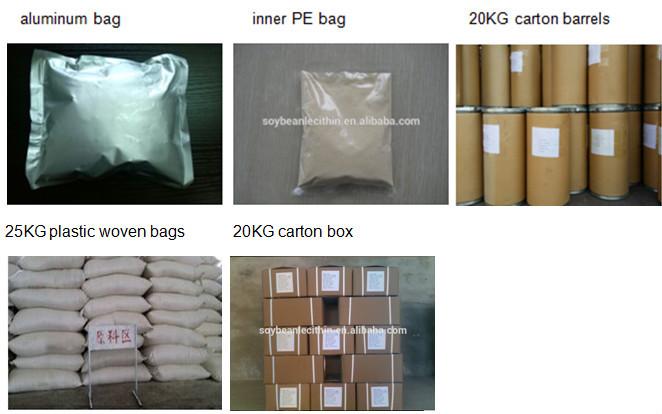 HXY-PLF instant powder additives soya /soybean lecithin powder factory