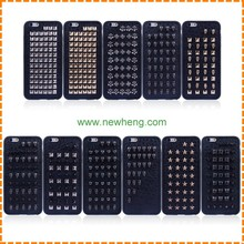 Factory direct sale Rivet Leather Phone Case for iPhone 7