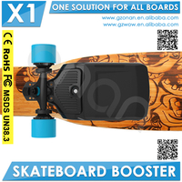 Longboard Pu Wheel Boosted Skateboard Deck