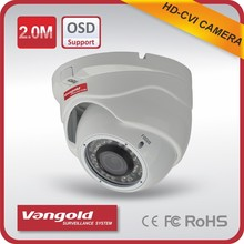 Hd Cvi 1080p 2.0mp dome Security Cvi Camera with good night vision