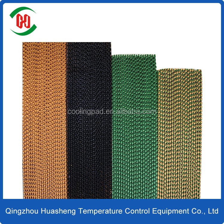 HS evaporative cellulose pad cooler/cooling pad production line