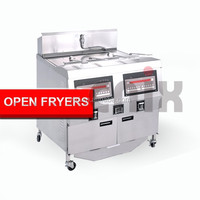Potato chips making machine/deep fryer