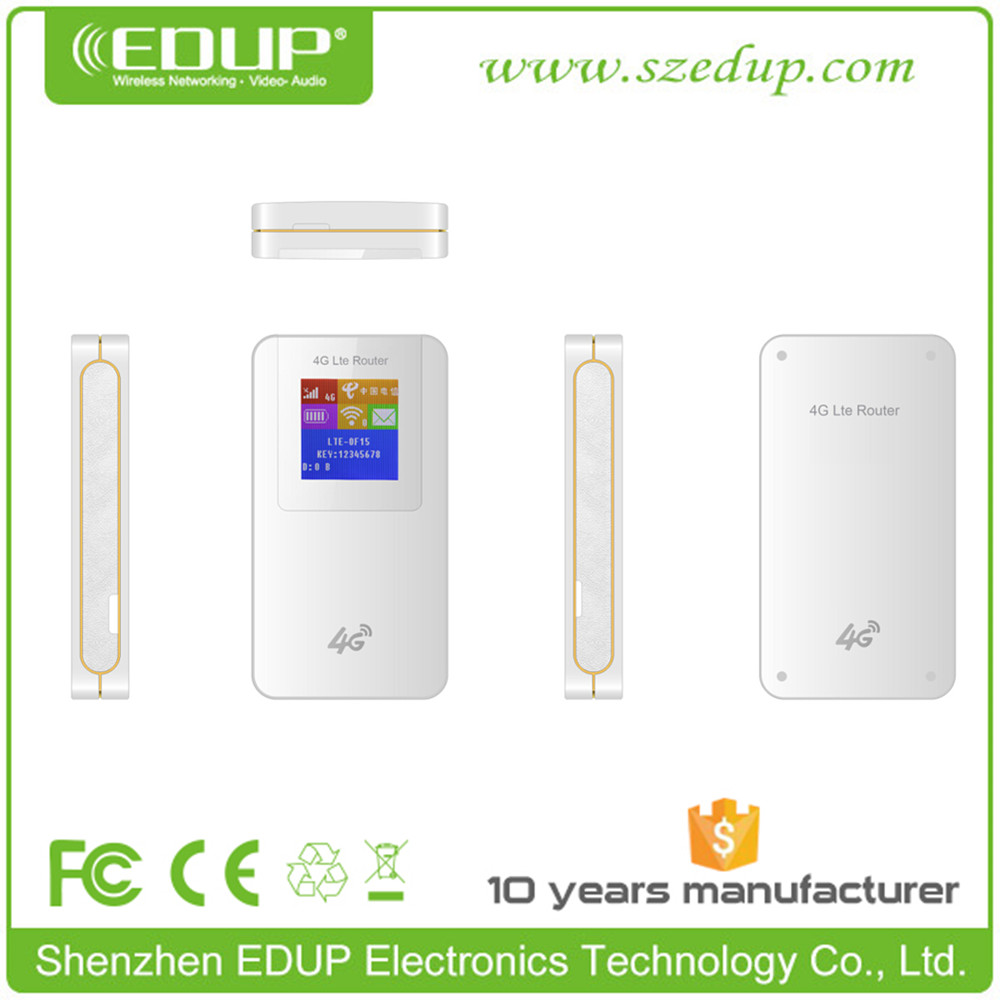 Portable Hotspot 3G 4G Modem LTE Router WiFi with Sim Card Slot