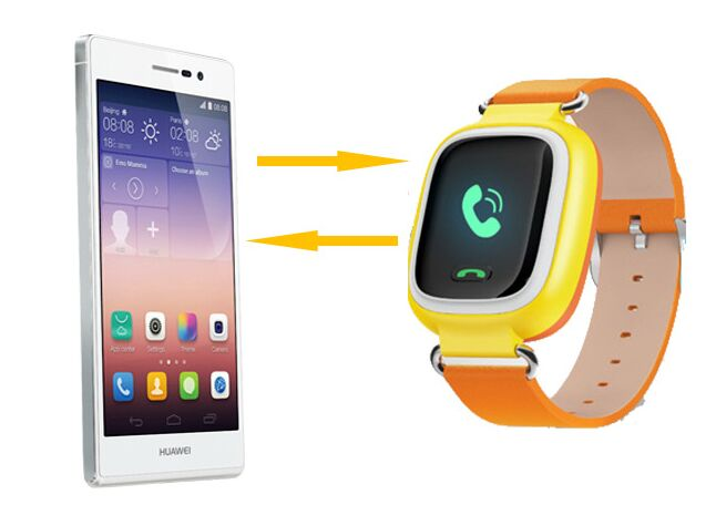 Two way communicaton Smart Watch Phone Q80 Q50 with GPS Tracker for Kids