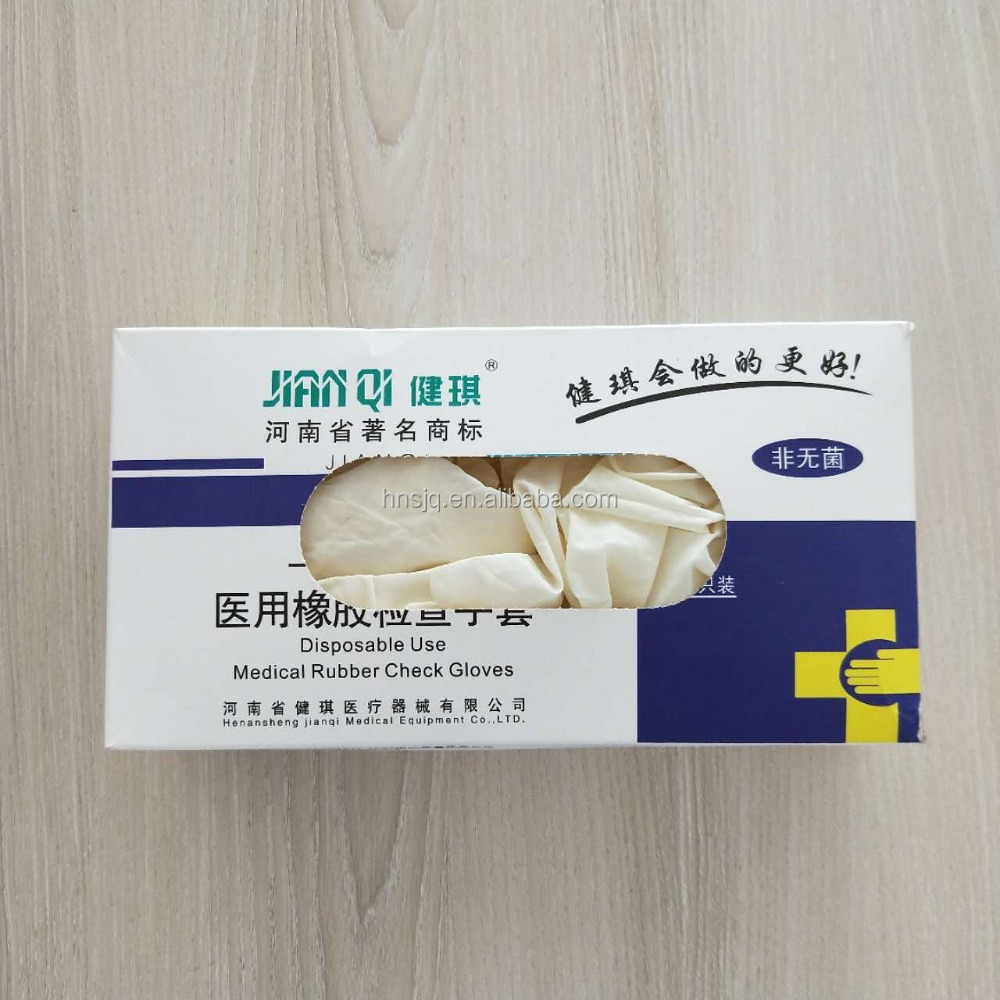 Good Quality Disposable Medical Latex Examine Non Sterile Gloves Clinic,Latex Gloves