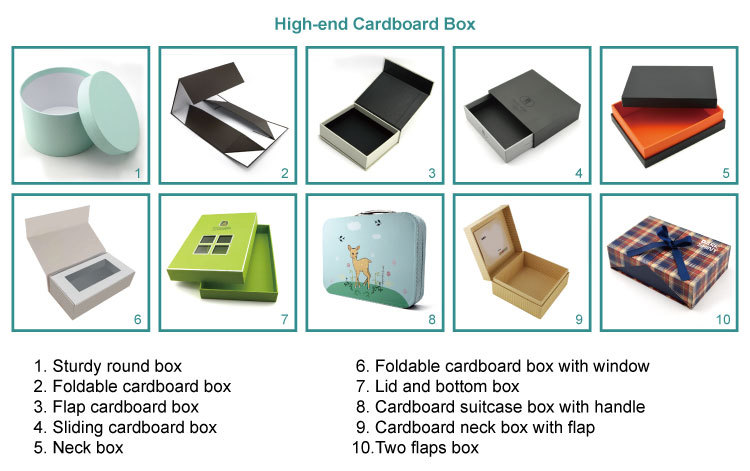 Custom Tuck Top Cardboard Paper Corrugated Box