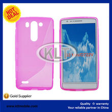 case for LG G3 mini customize colors TPU S line case soft ultra thin cover for LG phones at factory price