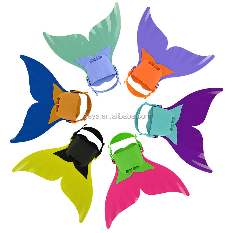 Kids mermaid mono fins swimming mono fins F-106