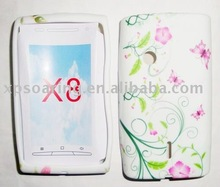 New Design TPU subber case skin back cover for Sony X8